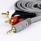 AUX to AV cable