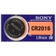 Sony CR2016 Lithium Battery