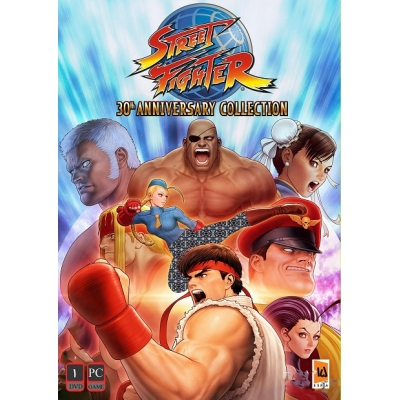 Street Fighter 30th Anniversary Collection PC 1DVD